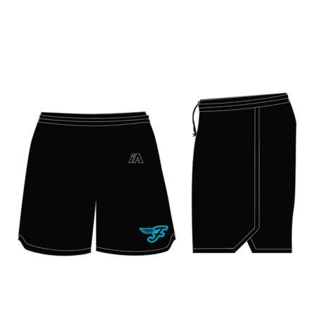 Southside Flyers 2020 Womens Casual Shorts - Black / Black