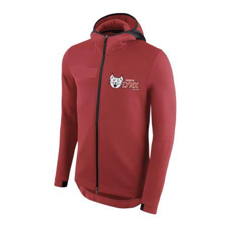 Perth Lynx 2020 Pro Zip Hoodie Red