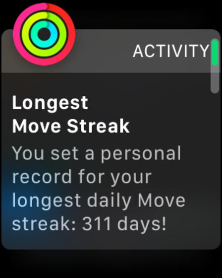 311-day move streak