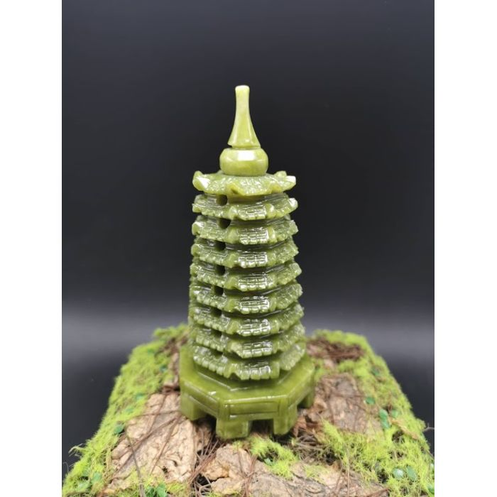 9层青玉文昌塔(小) Green Jade WenChang Tower 9 Floor (S)