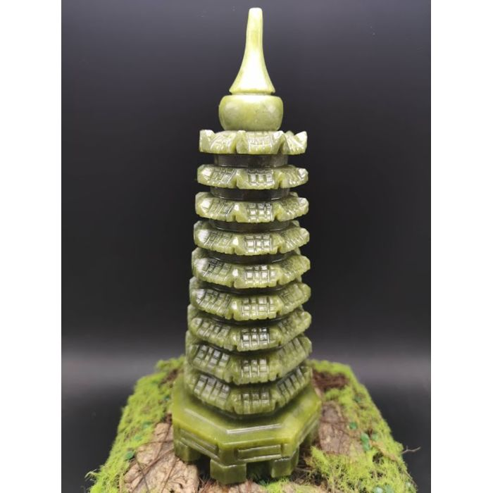 9层青玉文昌塔(大) Green Jade WenChang Tower 9 Floor (B)