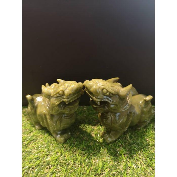 5寸青玉貔貅 5Inch Green Jade PiXiu