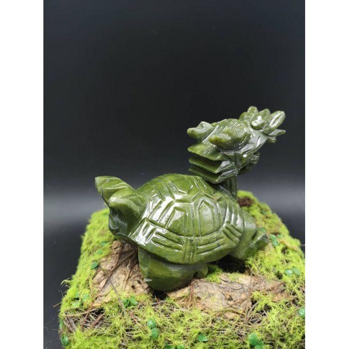 青玉龙龟(小) Green Jade LongGui (S)