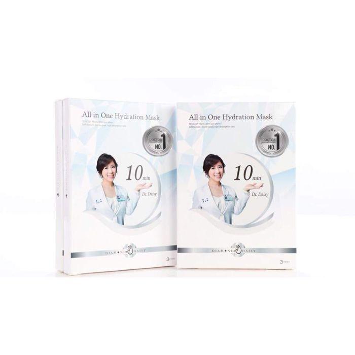 Diamond Daisy All in One Hydration Mask 鑽石黛西「晶鑽雛菊保濕面膜」International Version - 1 box (3 pcs masks)