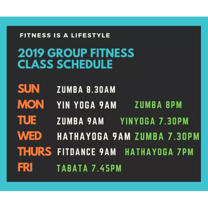 Group Fitness Dance - Individual Unlimited Package (Zumba / Yoga / Fitdance / Tabata) 1hr