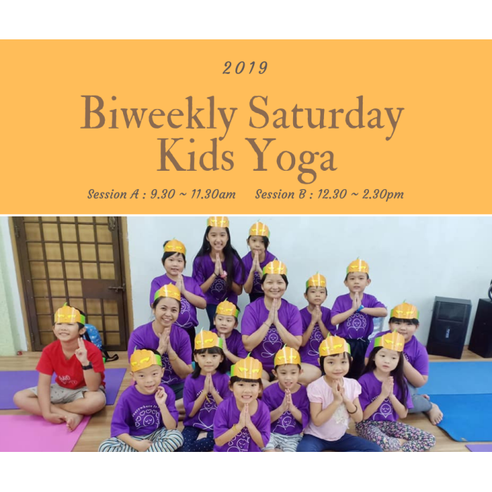Bi-weekly Group Kids Yoga (Age : 6 - 10)  2hrs