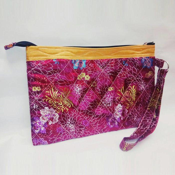 百分百纯手工手拿包 handmade hand bag