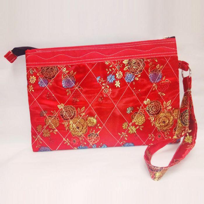 百分百纯手工手拿包 handmade hand bag ±22cm x ±32cm