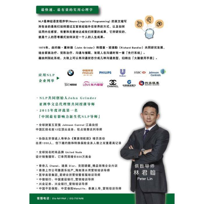实战销售NLP 吉隆坡2天全面培训 20-21/4/2019