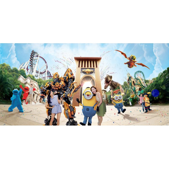 4 days 3 nights Singapore · Universal Studios · Johor Bahru, Food & Leisure Tour