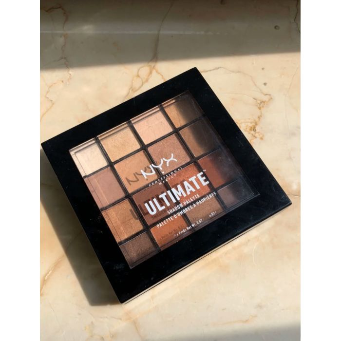 NYX Warm Neutrals Eye shadow 眼影盘**海外代购,付款后运送需要15-20天working days( Oversea delivery period about 3-4weeks)
