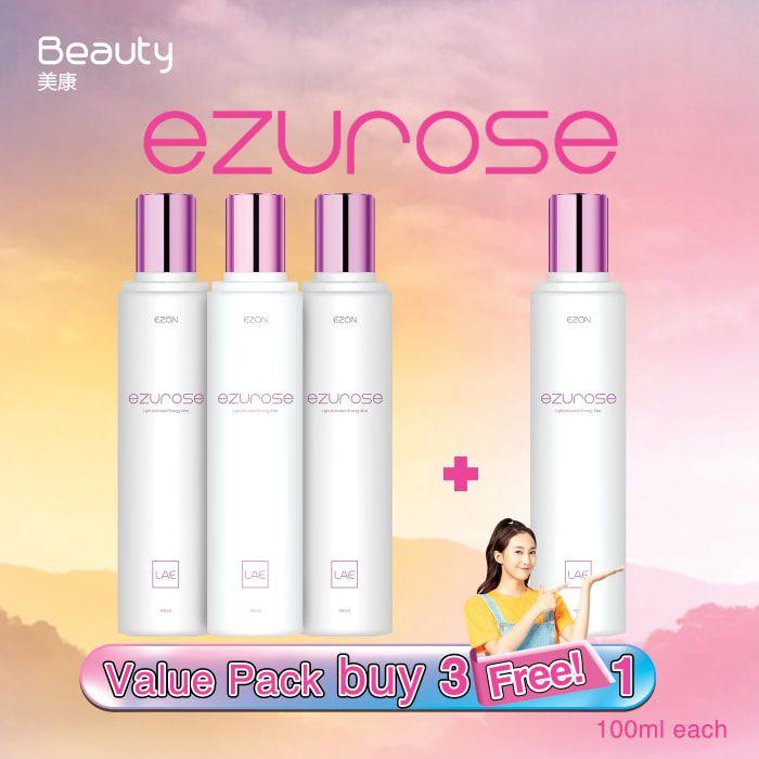 【买3送1】Ezurose 逆龄护肤水 LAE专利科技 (100ml)