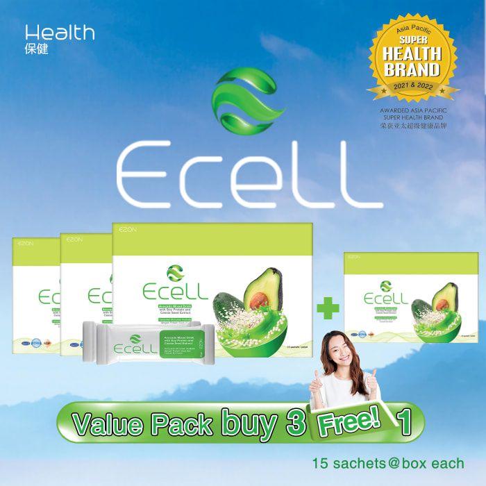 【买3送1】Ecell 营养代餐