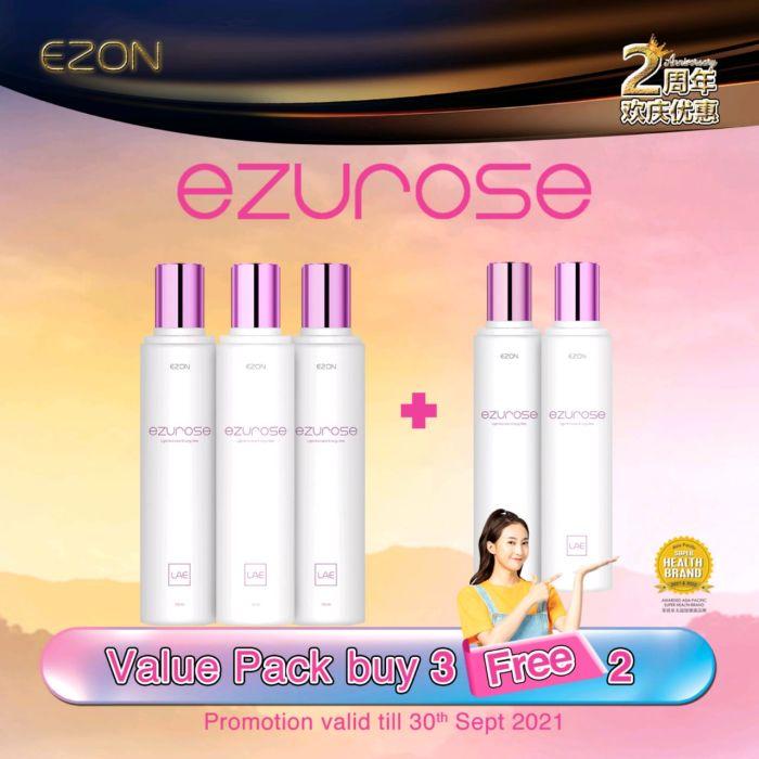 【Buy 3 Free 2】EZUROSE package