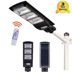 90W All-in-one Solar Street Light With Remote Control