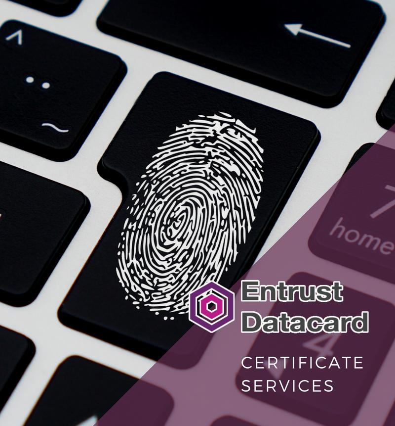 New Entrust Certificate Services Ecs 125 Ibis Management