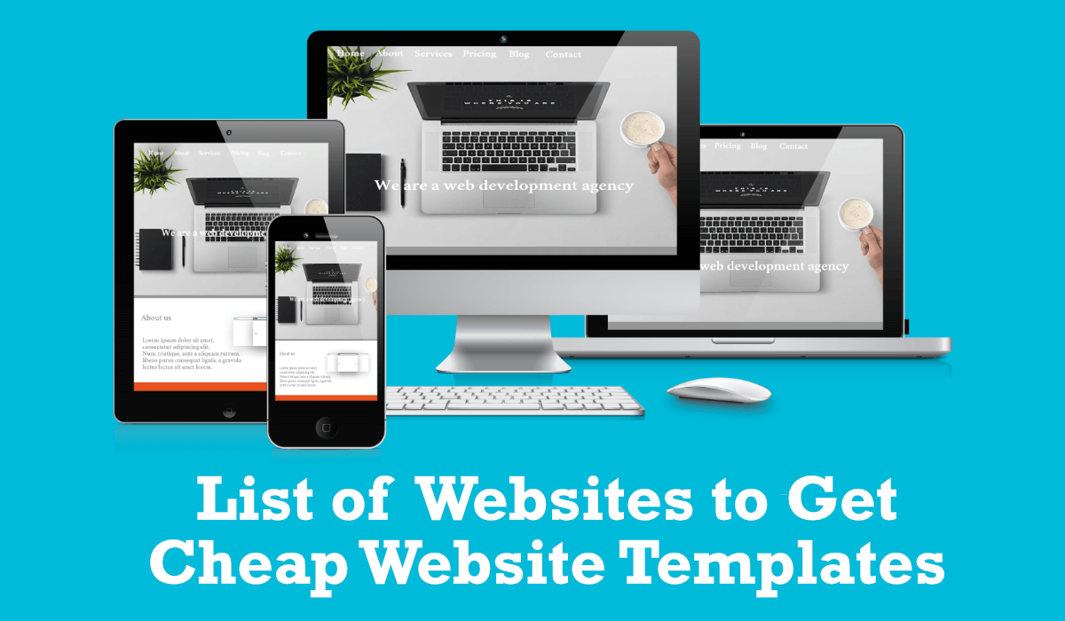 Cheap website templates