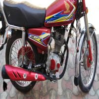 Honda CG 125 red color
