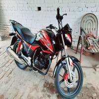 Honda Cb150f bike