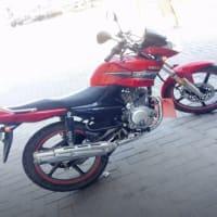YAMAHA 125 motorcycle