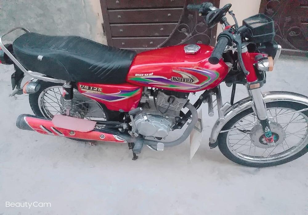 United 125cc bike