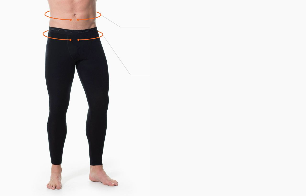 New Fit And Size Guide Icebreaker Thermal Legging Winter Tebal