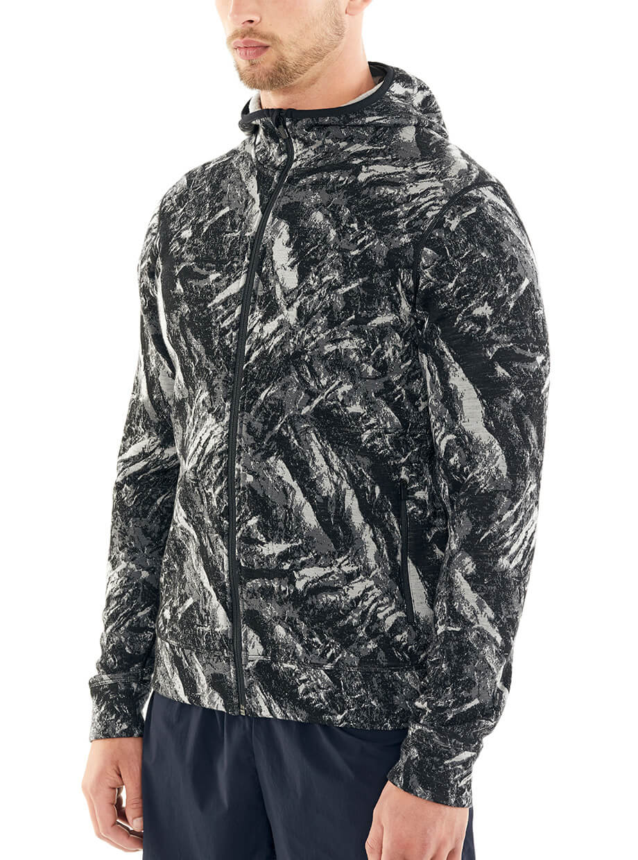 icebreaker's Elemental Long Sleeve Zip Hood
