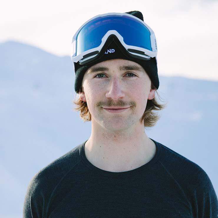 Finn Bilous - Olympic freestyle skier, icebreaker ambassador