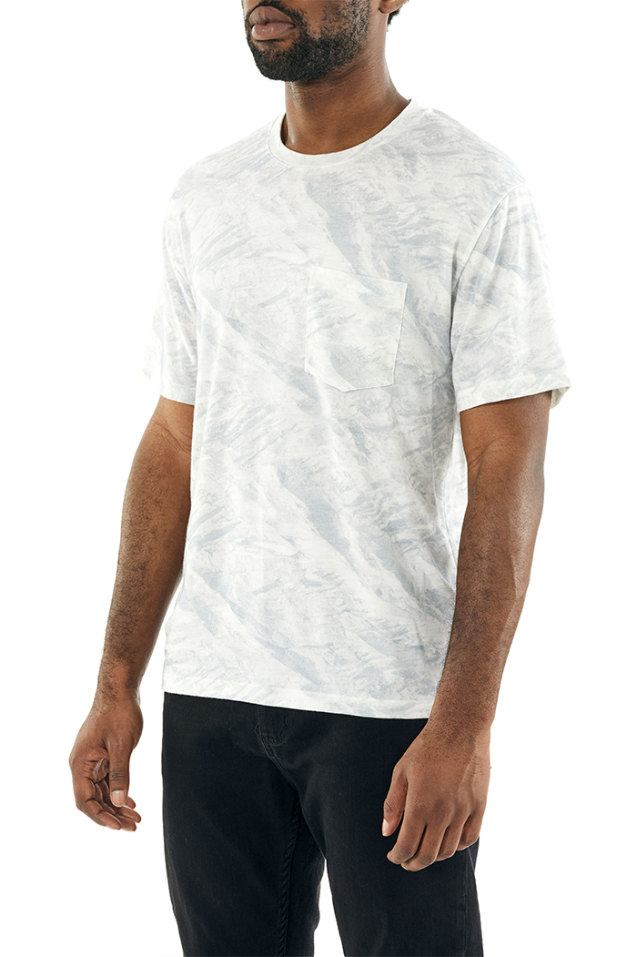 icebreaker's 男款 200短袖圆领带口袋上衣 IB Glacier