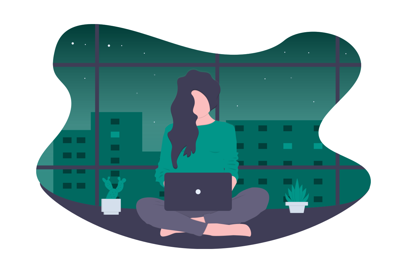 illustration-woman-and-laptop