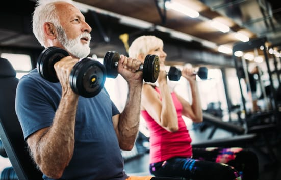 strength training over 60