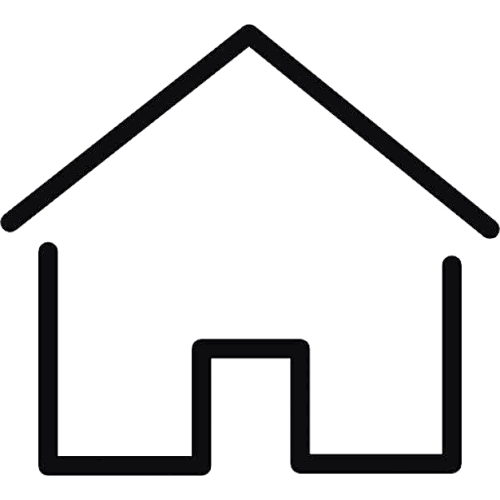 Simple house thin outline 318 35874 vw4g8i