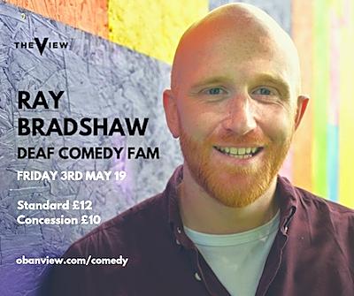 Ray bradshaw  deaf comedy fam 2 ezrfmd