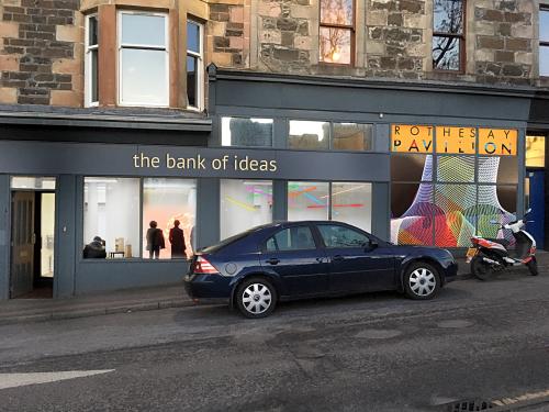 Bank of ideas with pavilion 1 light sticks 1 w4vsy8