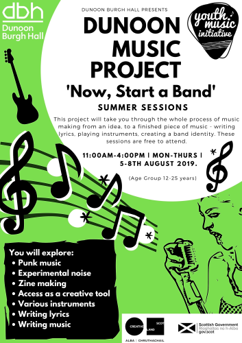 Dunoon music project summer vloqn5