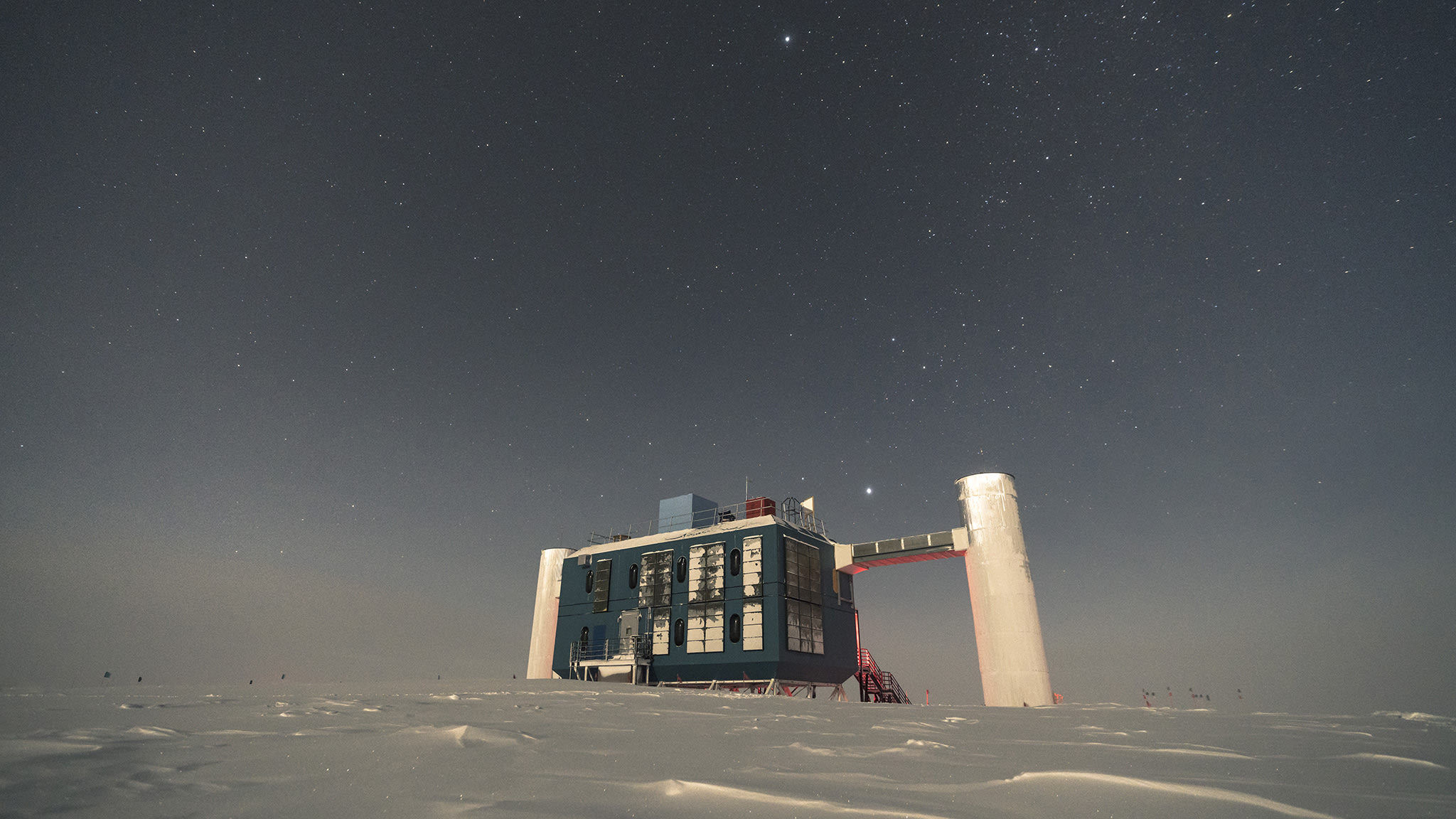 IceCube Lab under the stars – 2017