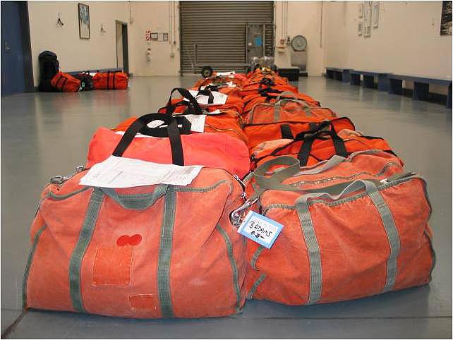 South Pole luggage