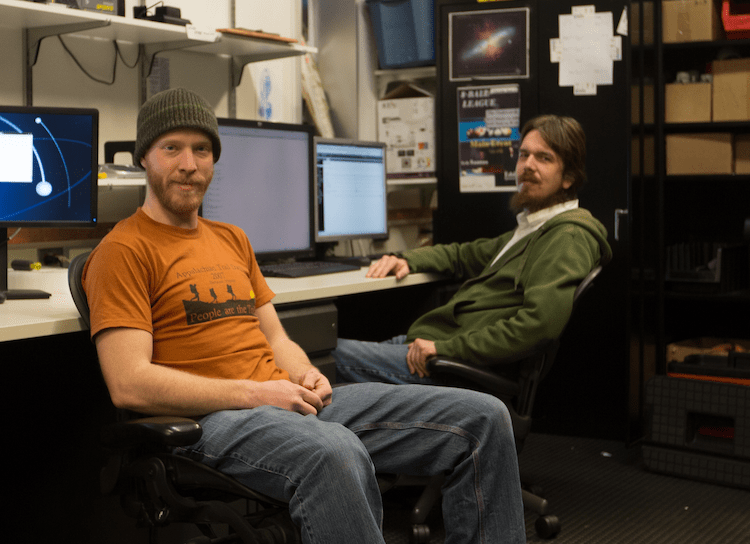 Ian Rees and Dag Larsen – IceCube's 2013-14 winterovers