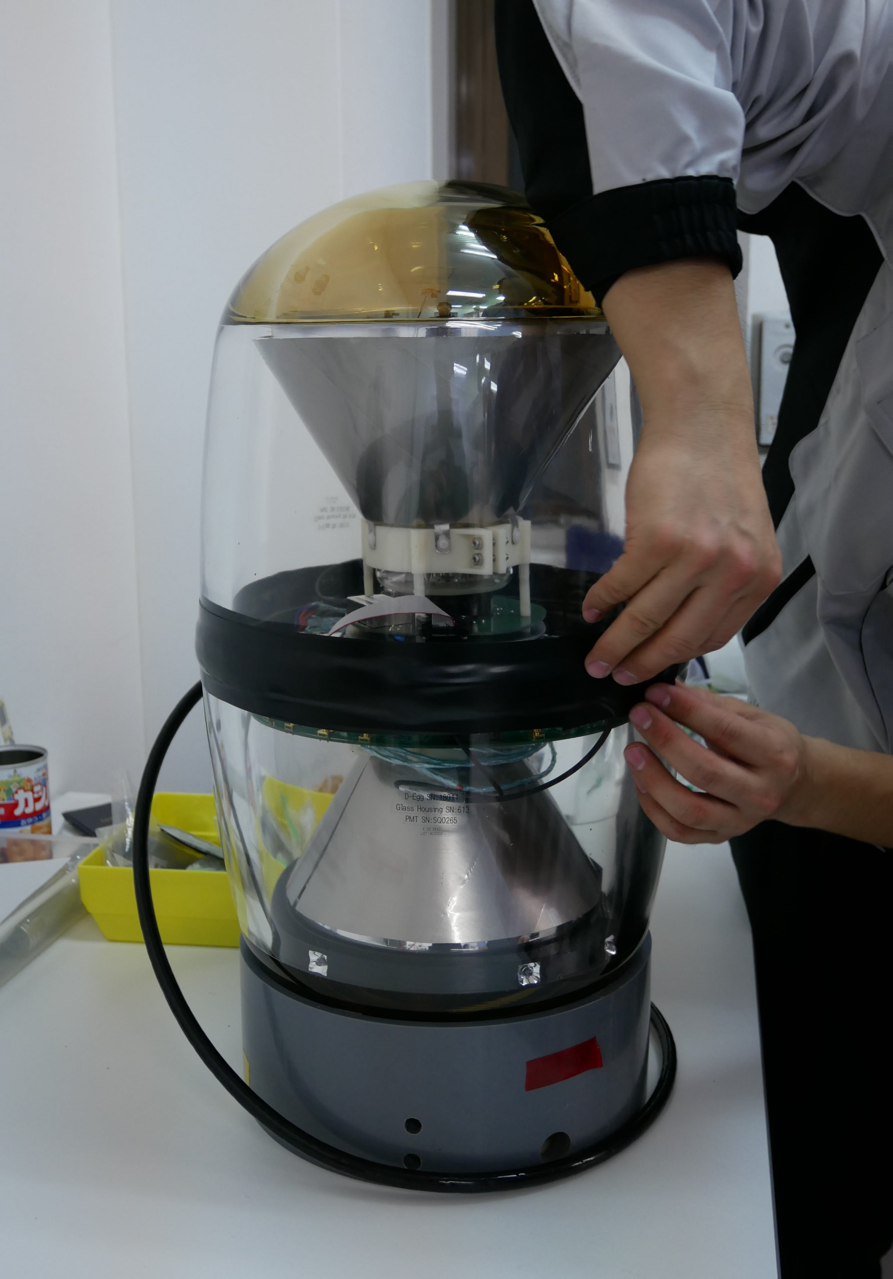 Prototype of a D-Egg