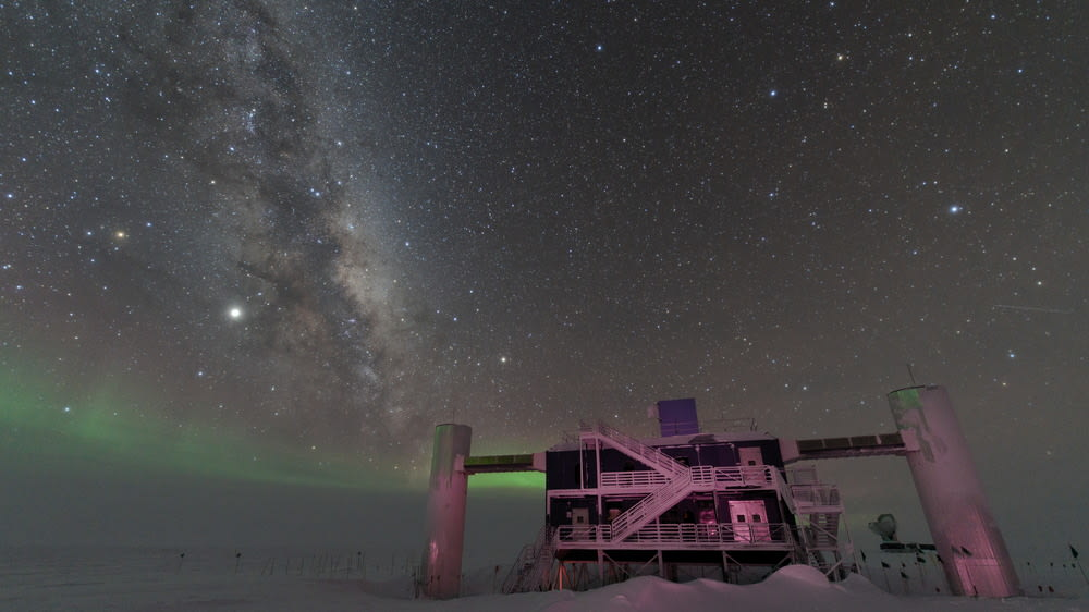 Milky Way above the ICL