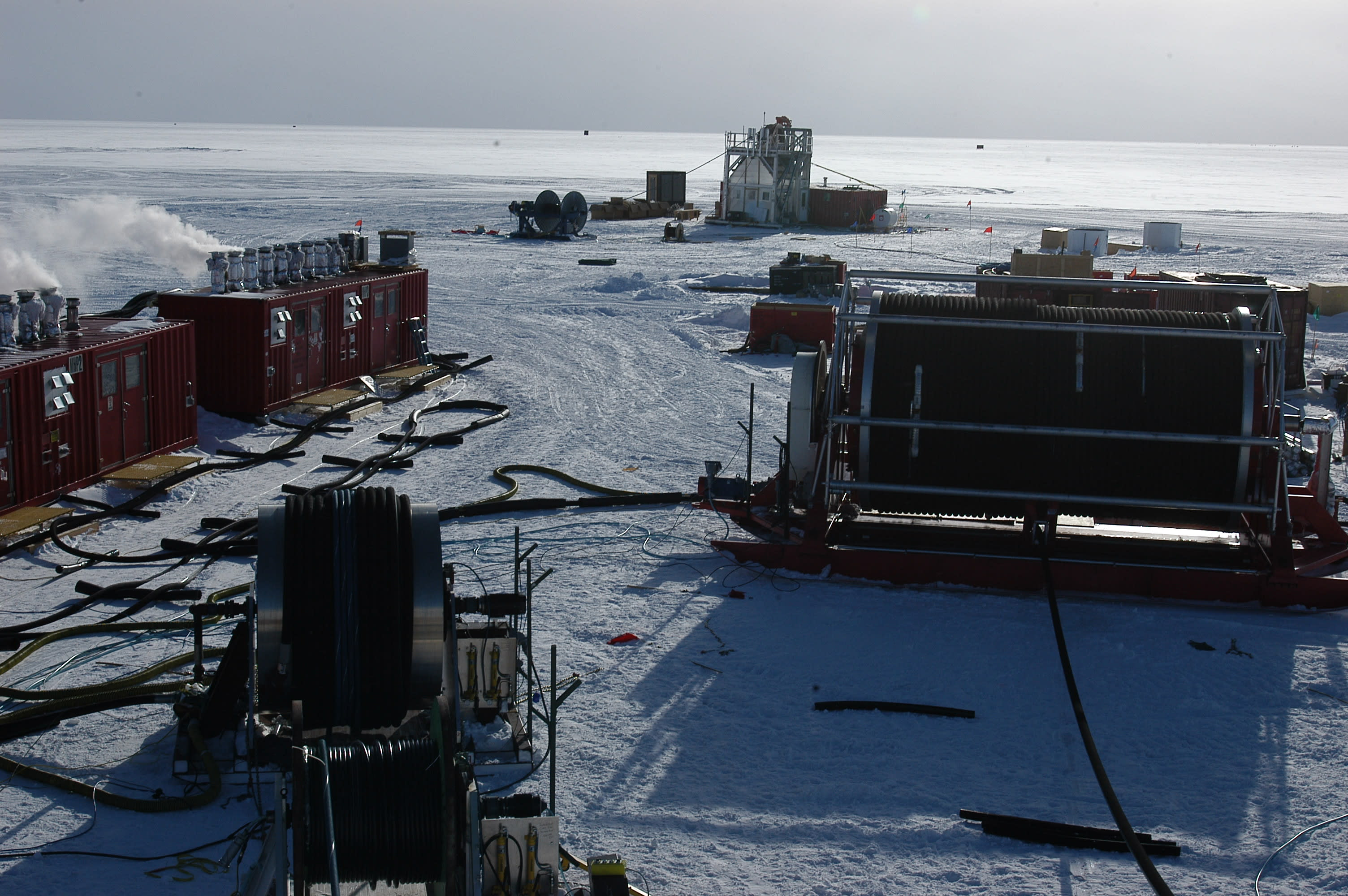 Overview of the drill site