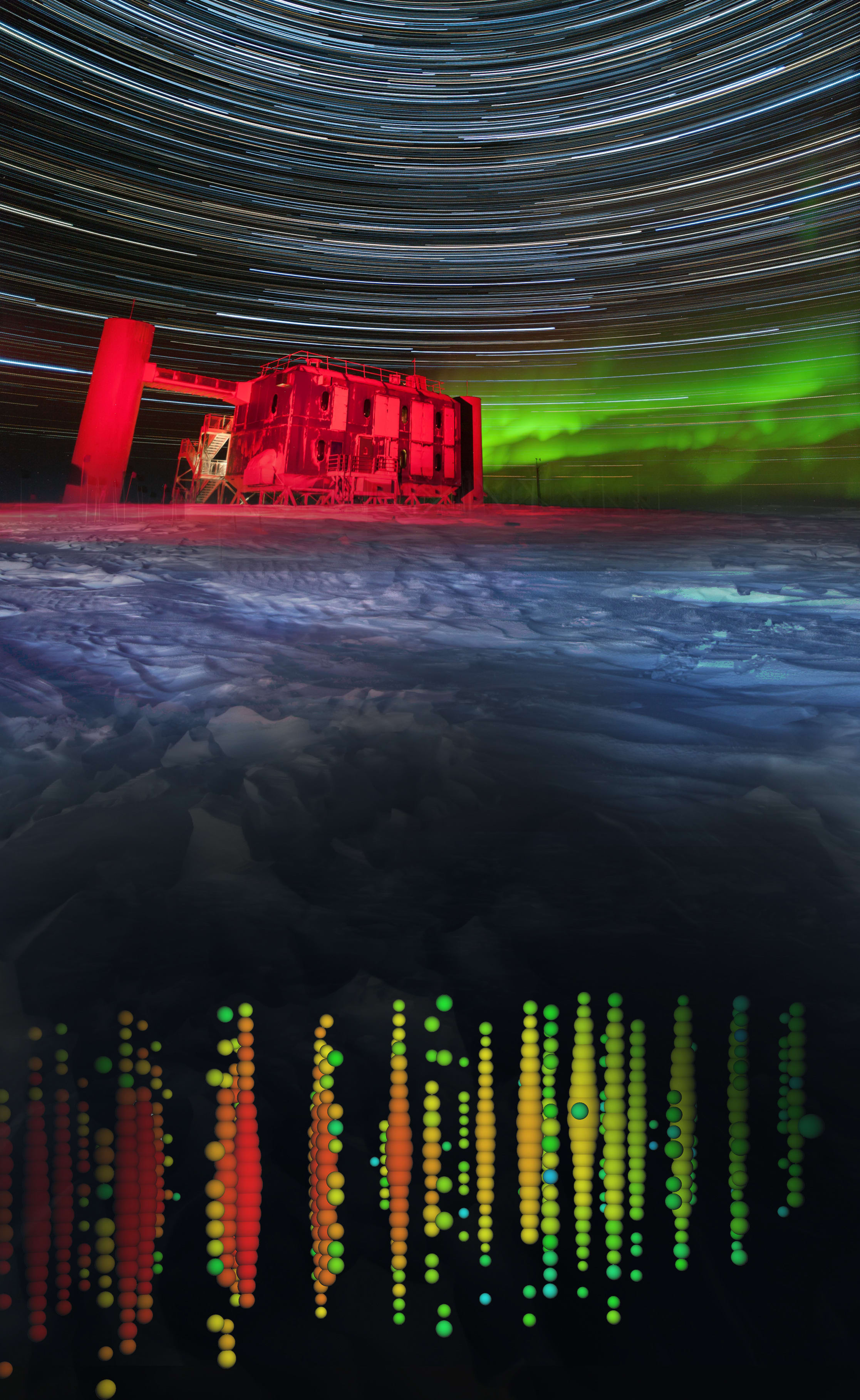 The ICL and a high-energy muon neutrino (night)