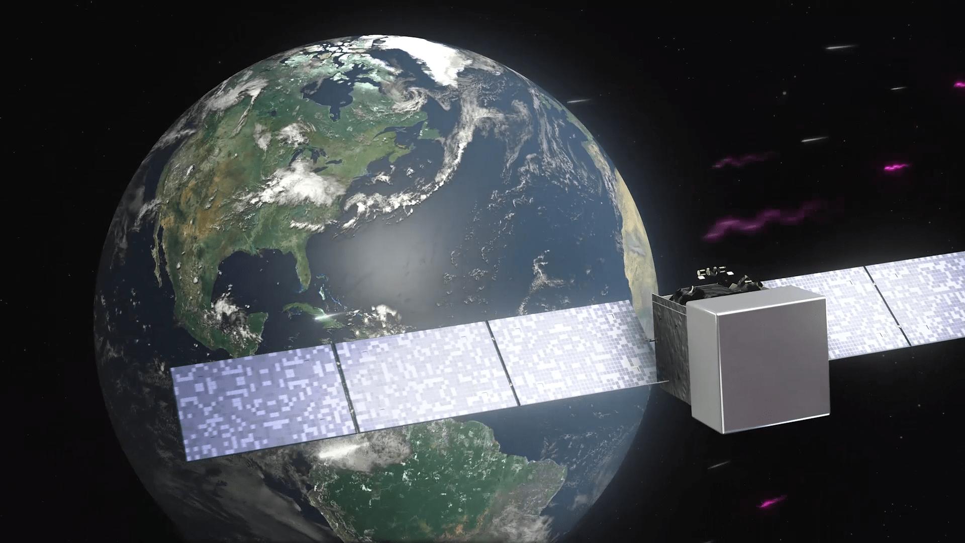 Animation: Fermi detects the blazar