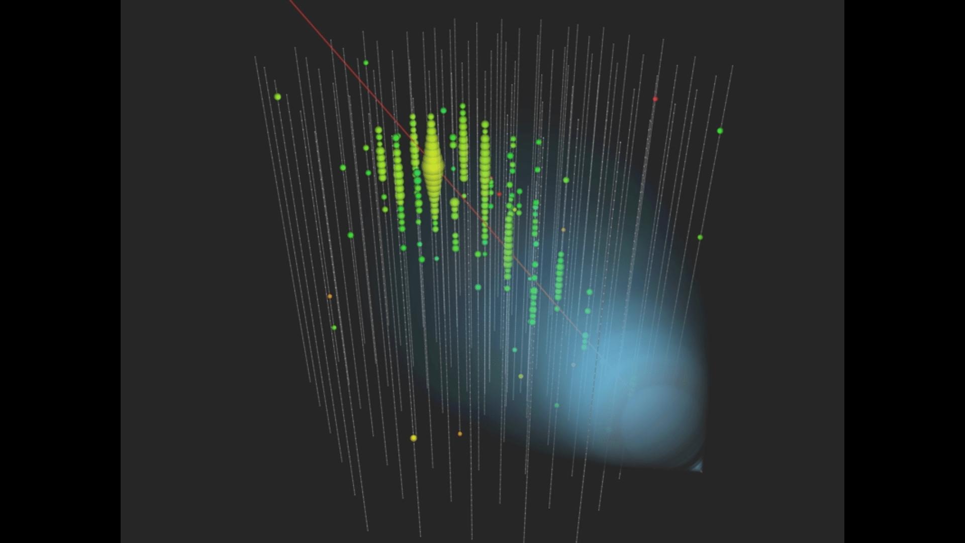 IceCube: a Cherenkov neutrino telescope