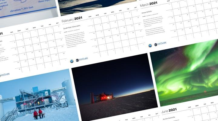 2021 IceCube Calendar Compilation