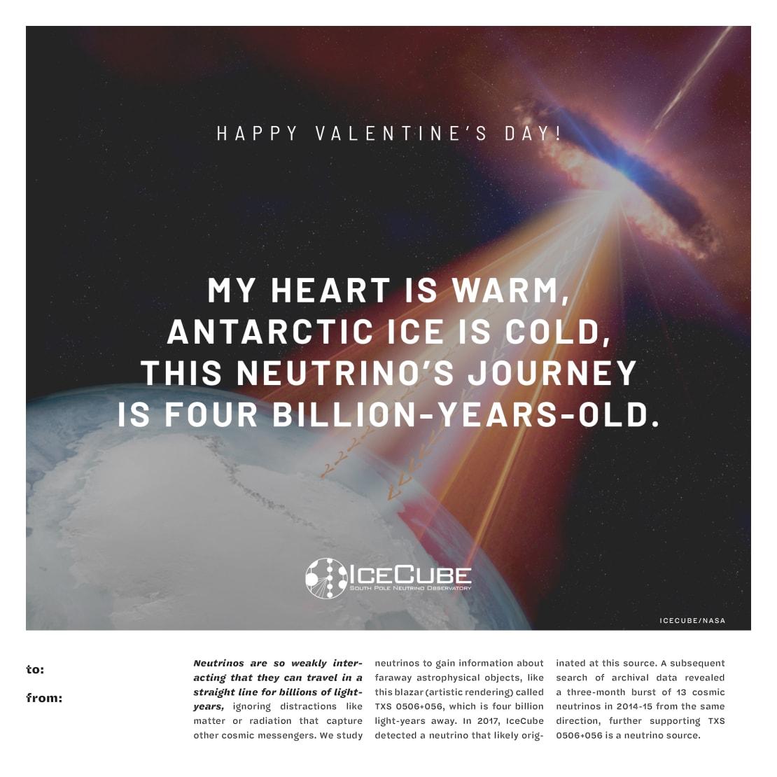 2020 IceCube Valentine #3
