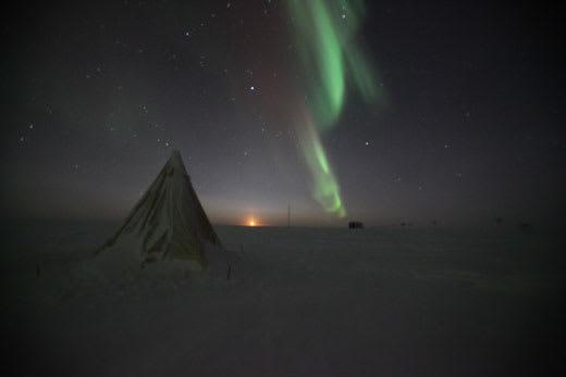 scott tent aurora