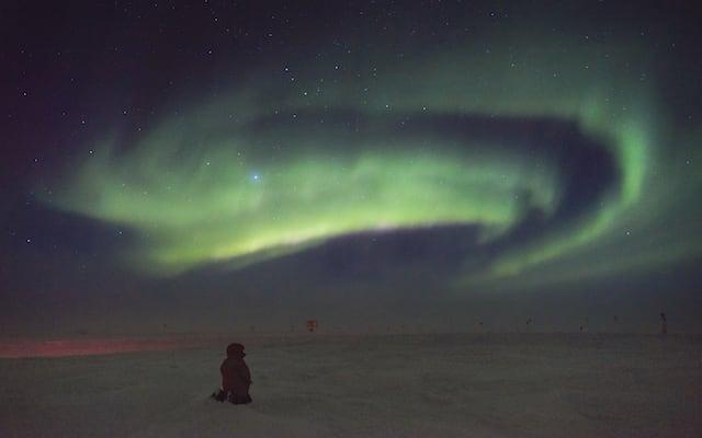 swirly aurora