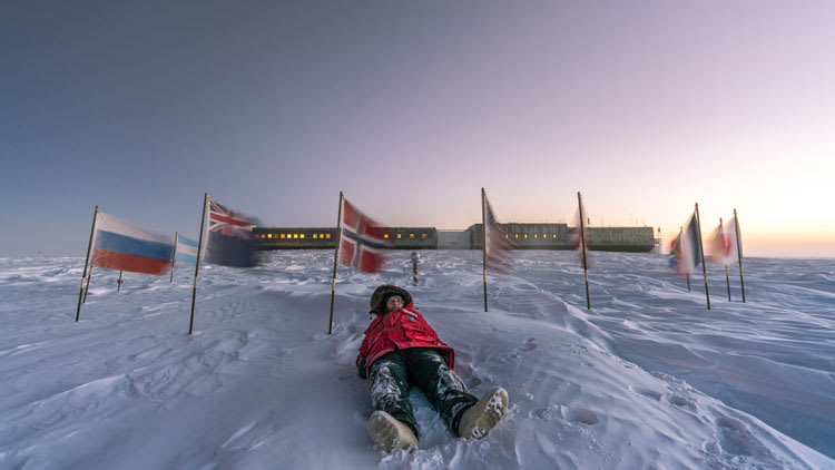 Martin lying at CPole