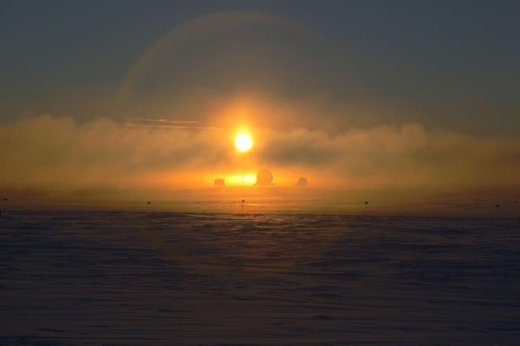 sunset_halo